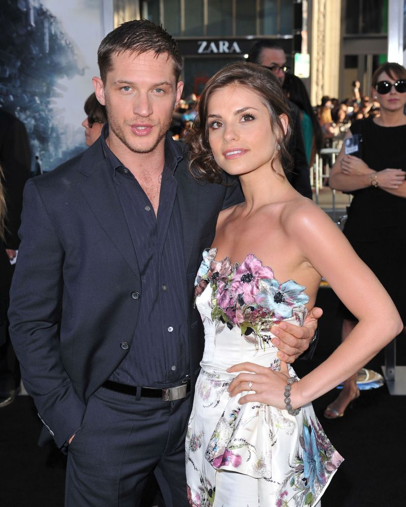 """Tom & Charlotte at """"Inception"""" Premiere -2010 Los Angeles."""