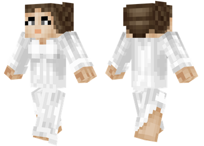 Princess Leia from Star Wars | Minecraft skins | Minecraft ...