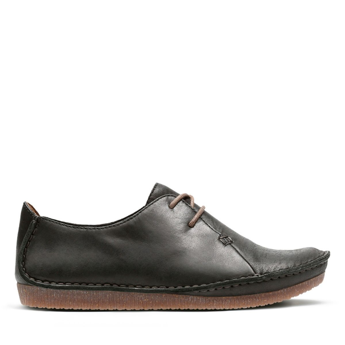 4c1601341b3a20 Janey Mae - Womens Shoes - Black Leather by Clarks in 2018 ...