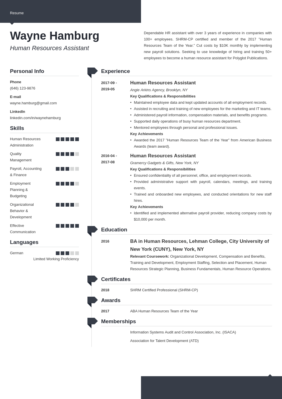 Hr Assistant Resume Example Template Modern Job Resume Examples Engineering Resume Resume Examples