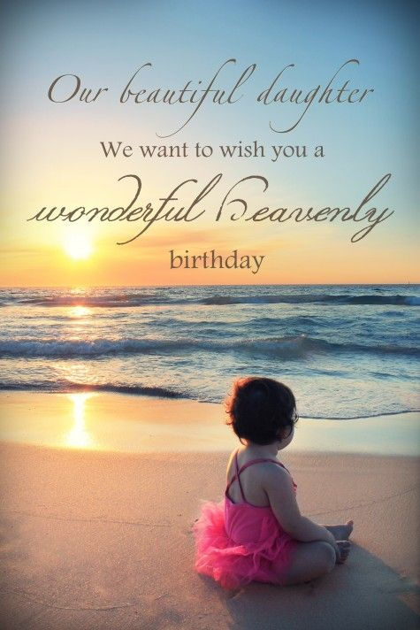 Image result for Happy Birthday In Heaven Daughter