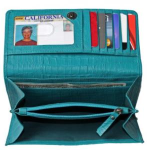 Wallet organizing tips | Unclutterer