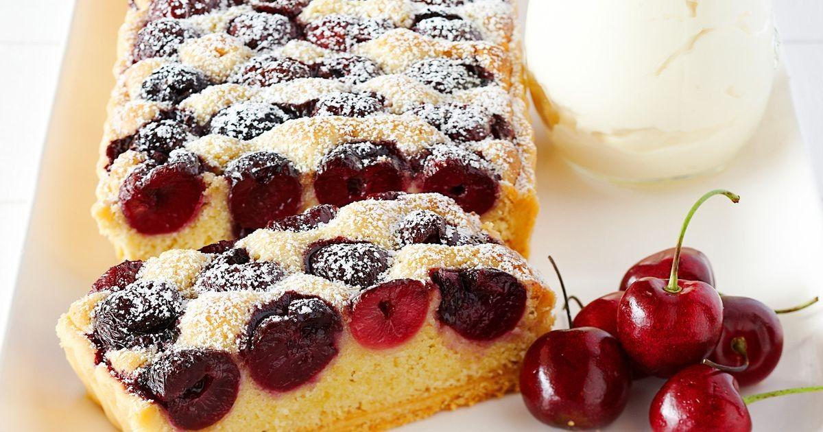 Cherry tart recipe coles recipe almond recipes tart