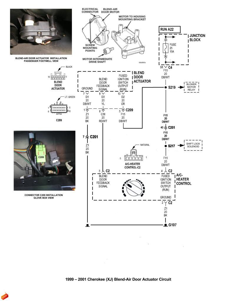 blend door test jeepforum com jeep jeep cherokee jeep jeep 2001 jeep heater control diagram [ 791 x 1024 Pixel ]
