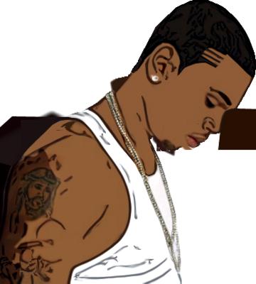 Psd Detail Chris Brown Vector Chris Brown Chris Brown Art Chris