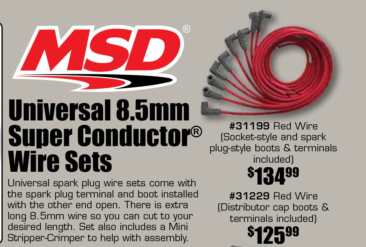 It\'s the best time to upgrade your wires! Universal 8.5mm Super ...