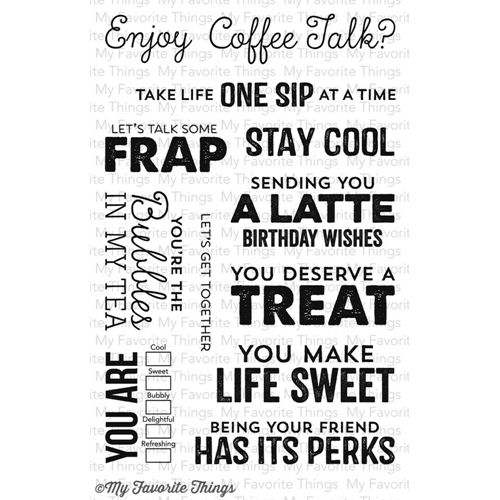 As A Coffee Drinker This Set Has A Latte Appeal To Me Card Sayings Clear Acrylic Stamps