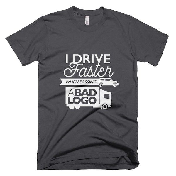 Buy T-Shirts For Graphic & Web Designers - I drive faster when ...