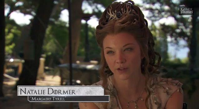 Margaery S Wedding Look Revealed Natalie Dormer Beauty Wedding Looks