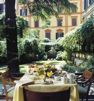 Hotel Quirinale Hotel Italian Garden