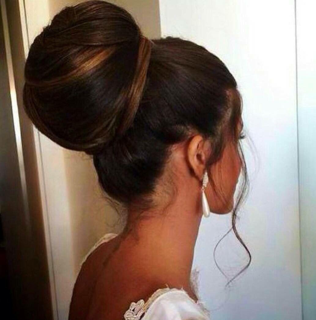 Chignon mariée coiffure pinterest