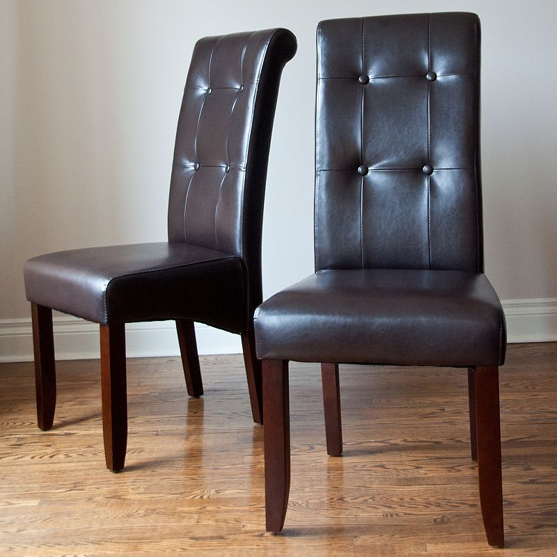 Park Art|My WordPress Blog_Leather Parsons Chairs Dining Room