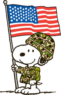 Image result for snoopy veterans day