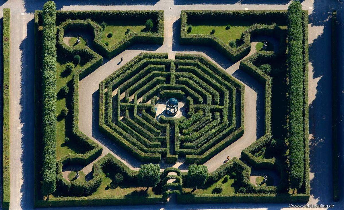 Hannover Labyrinth Herrenhausen Kastelen Royal Palace Herrenhauser Garten Hannover Labyrinth New York