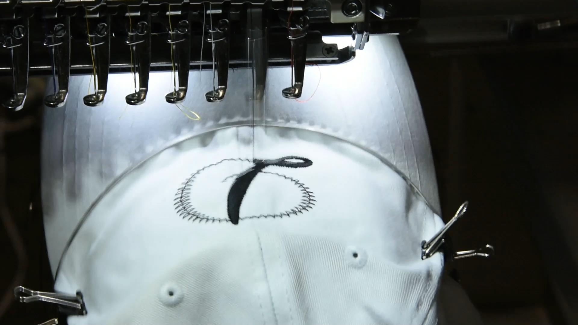 Monogram D Cap Embroidery Machine Video Video Machine Embroidery Designs Machine Embroidery Projects Machine Embroidery Applique