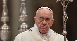 """To Pope Francis Christmas only a """"charade"""""""