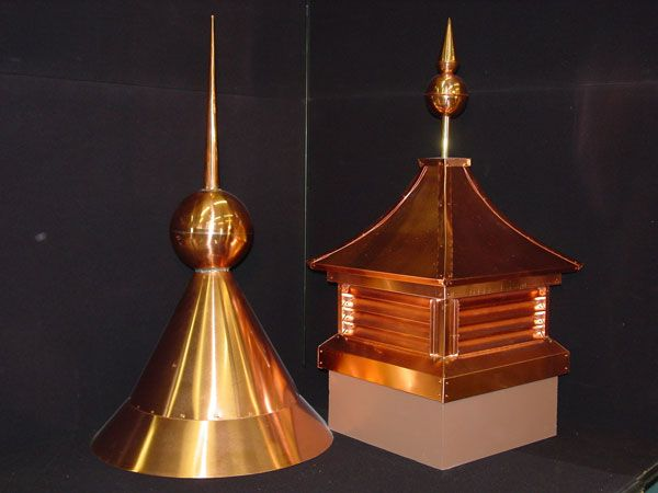Copper Cupola Roof With Finial Spire Concrete Roof Tiles Tile Manufacturers Copper Roof