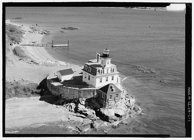 Rose Island, Lighthouse in RI