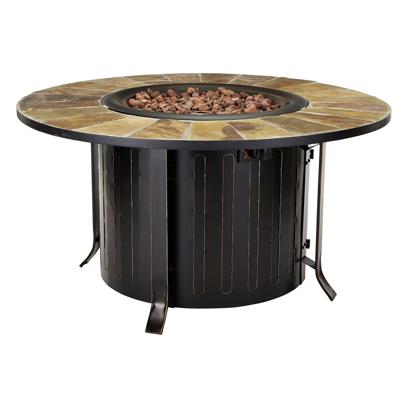 Montini 46in Gas Fire Table (68448A) - Outdoor Fireplaces ... on Ace Hardware Fire Pit  id=29043