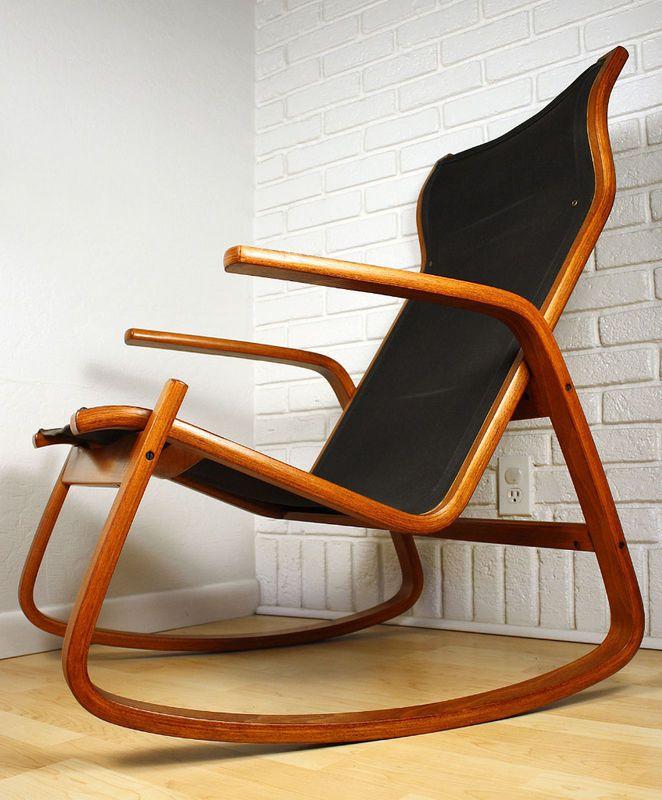 Rocking Chair By Ingmar Rellingae For Westnofa Of Norway Stol