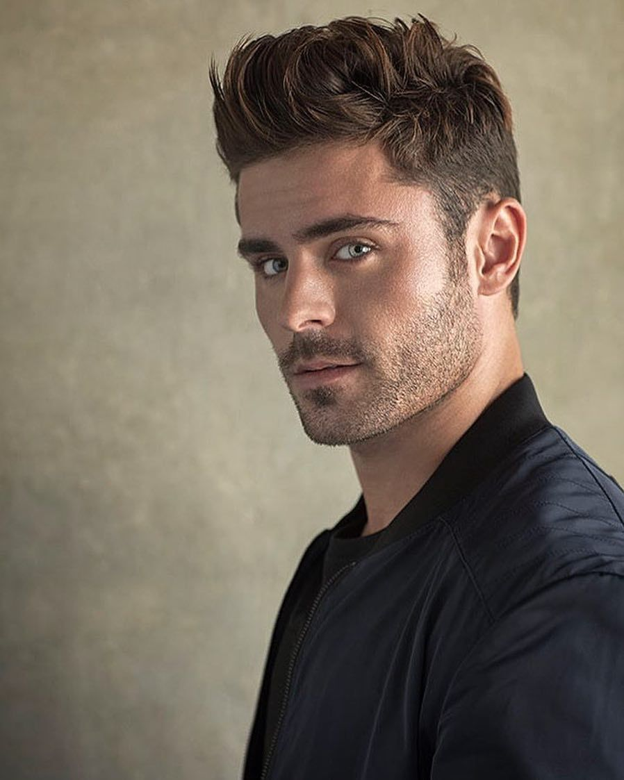Oh My Gosh How Divine Can Someone Look I Ve Told You Like A Hundred Times But Hugo Boss Photoshoot Pics Are Zac Efron Hair Zac Efron Style Haircuts For Men