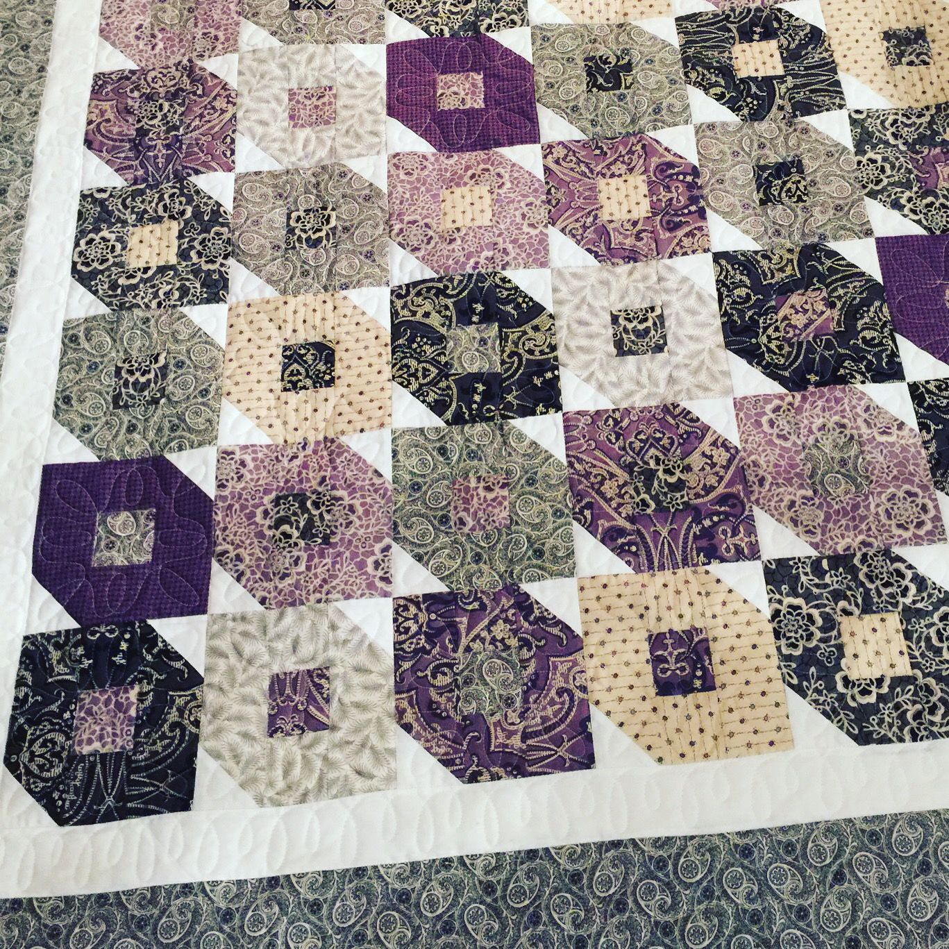 Flutterby quilt pattern using Downton Abbey fabrics by Andover ... : downton abbey quilt pattern - Adamdwight.com
