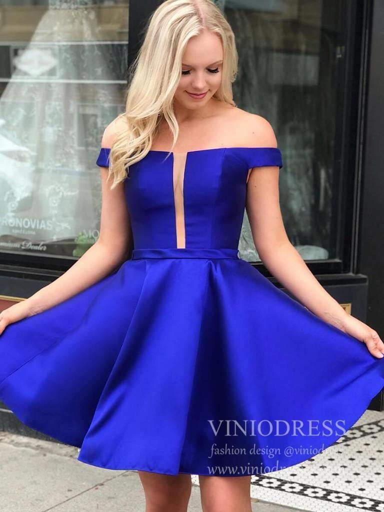 Simple Royal Blue Satin Homecoming Dresses With Pockets Sd1233 Simple Homecoming Dresses Cheap Homecoming Dresses Satin Homecoming Dress [ 1024 x 768 Pixel ]