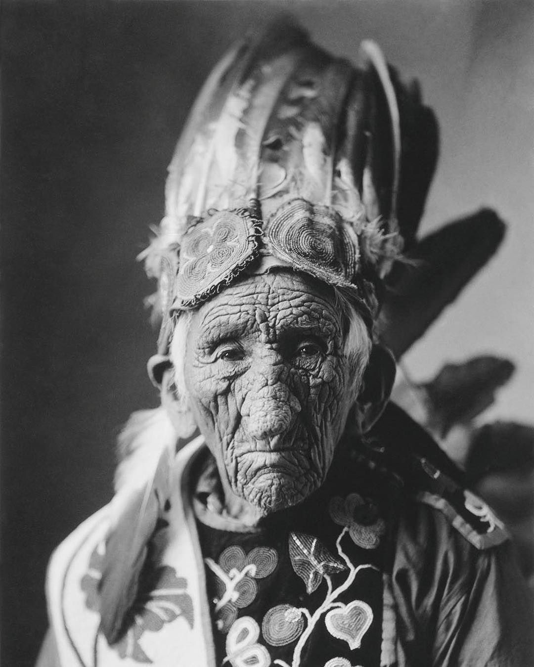 Chief John Smith A Chippewa Whose Tribe Populated The