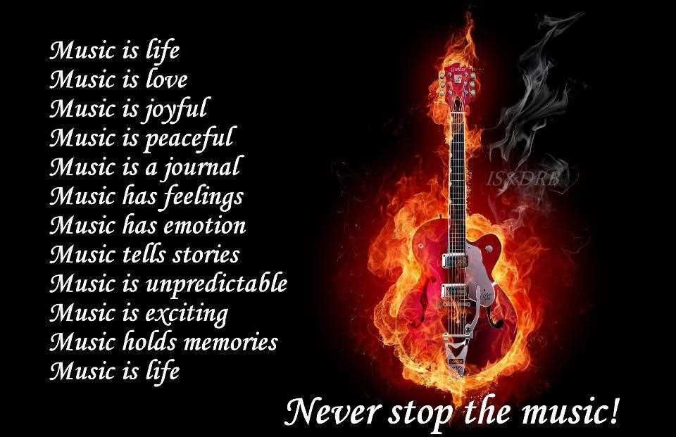 Life Love Quotes Music Is Life Music Is Love Education Pinterest