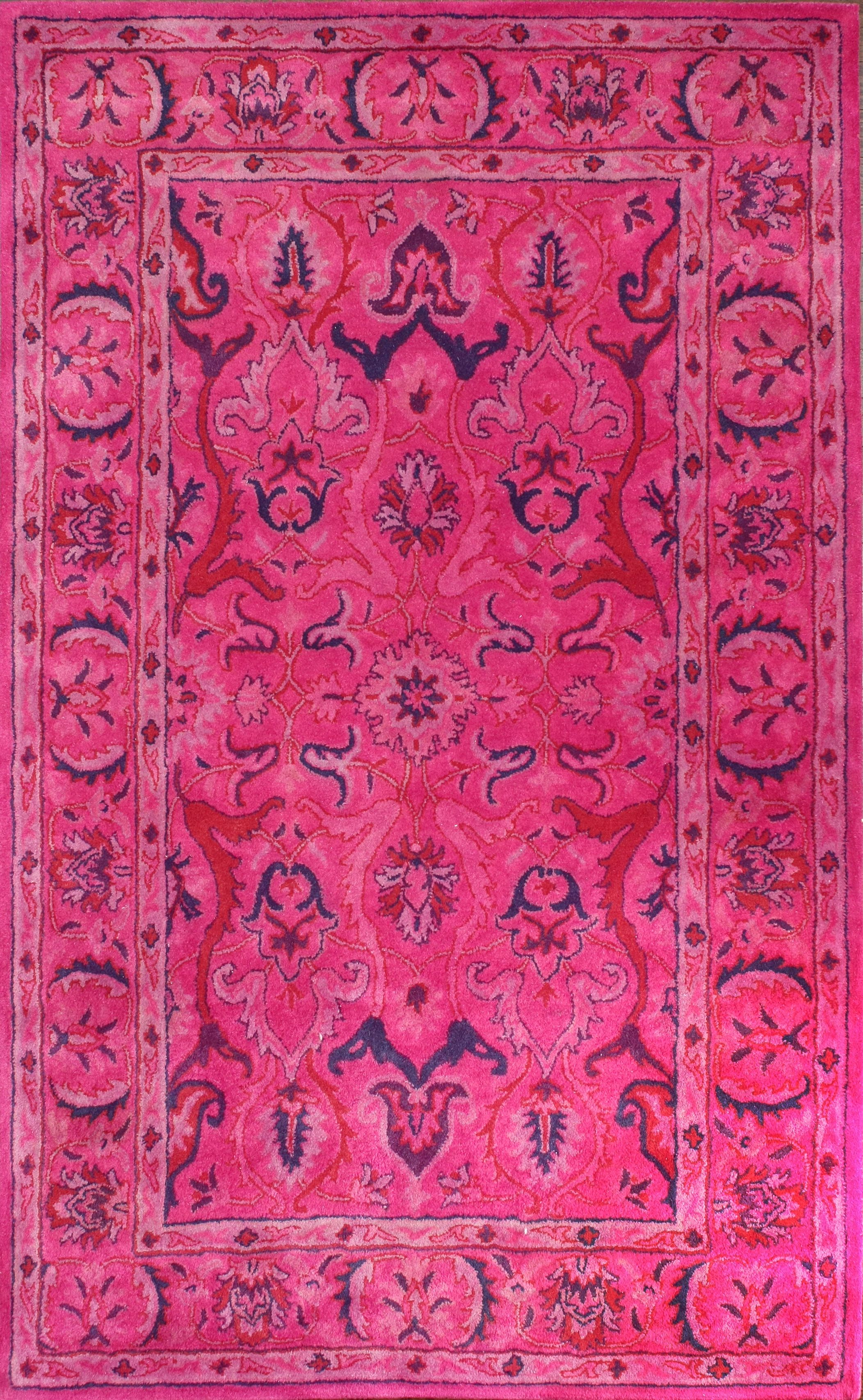 Rugs Usa Overdye Re31 Pink Rug Pink Rug Rugs Usa