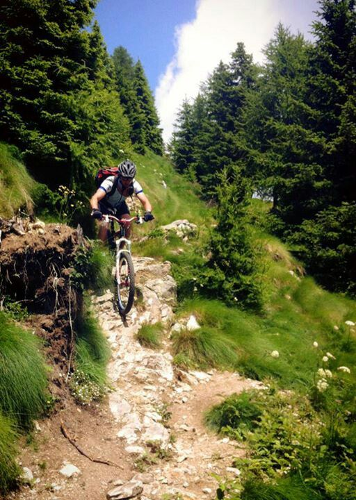 Perfect Weather For A Technical Ride Freeride Mountain Bike