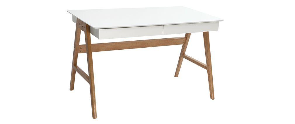 Designer Schreibtisch Weiß design schreibtisch weiß und holz brook wunschliste