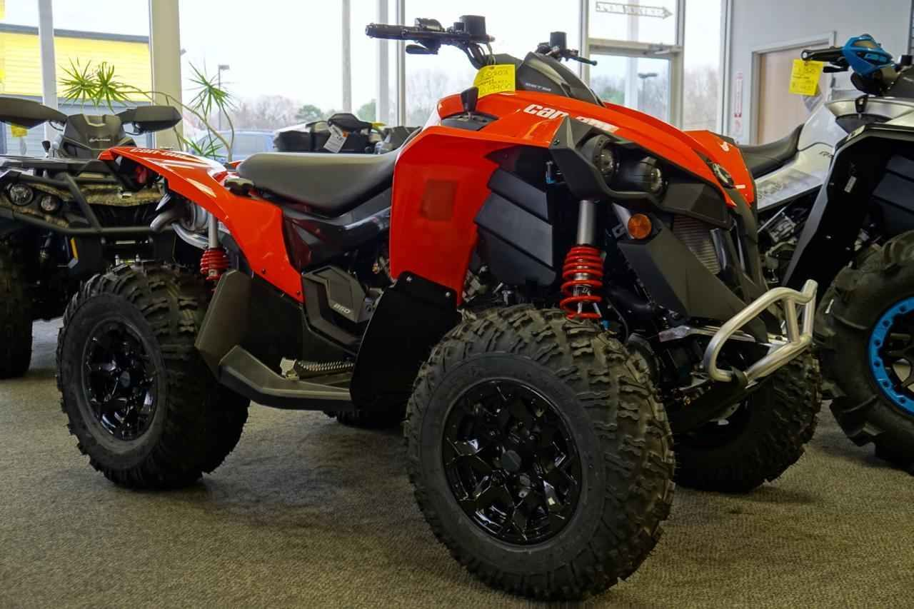 New 2017 CanAm Renegade 850 CanAm Red ATVs For Sale in