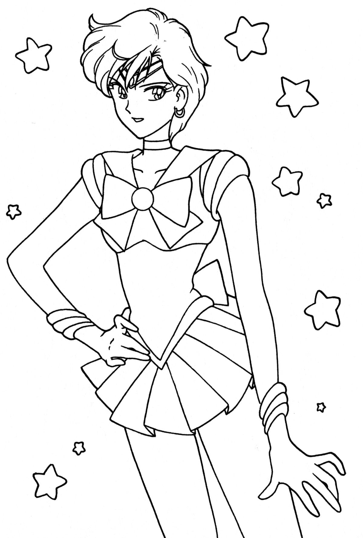 Pin By Spetri On Lineart Sailor Moon