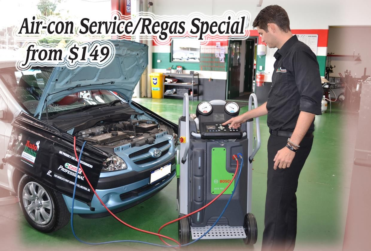 Air-con Service and Regas Special ends 29th of February