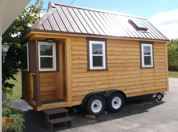 135 Sq Ft Tiny House For Sale Built On Tumbleweed Trailer Photo