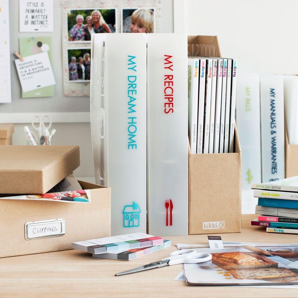 My Dream Home Organiser - these folders from Kikki k are the best ...