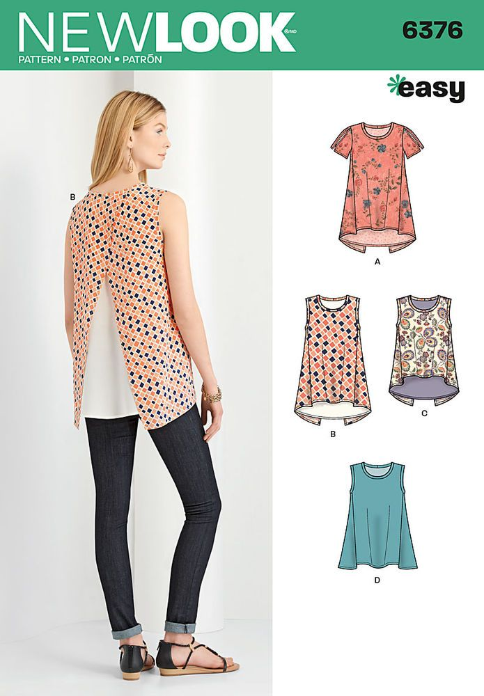 misses\' easy tops can be short sleeve with cold shoulder or ...