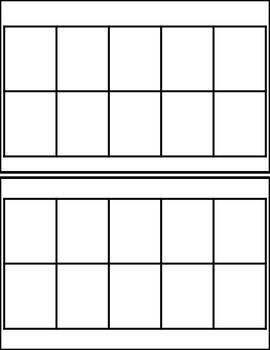 Ten Frame Templates Ten Frame Activities Kindergarten Ten Frame Math Activities Elementary