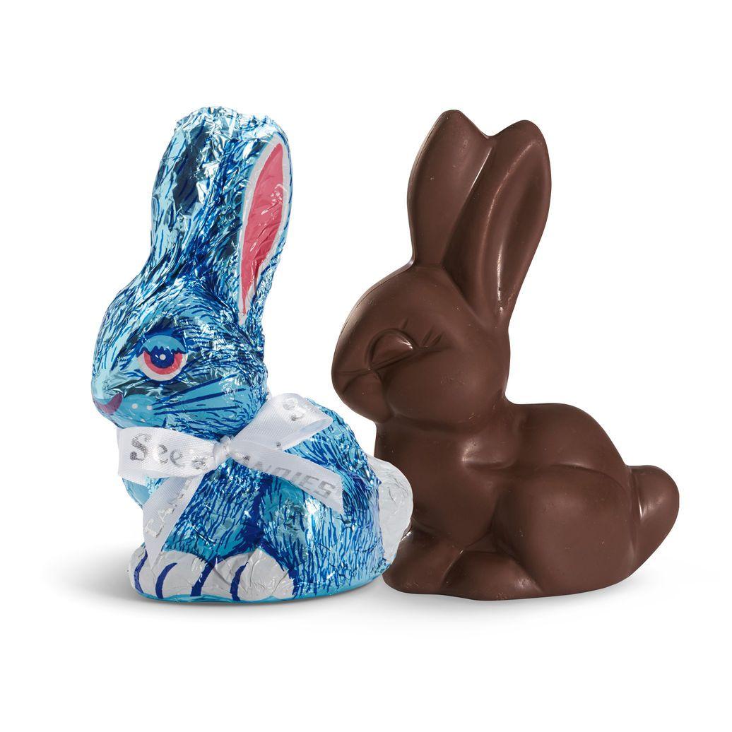 Dark chocolate bunny view 1 chocolate bunny dark