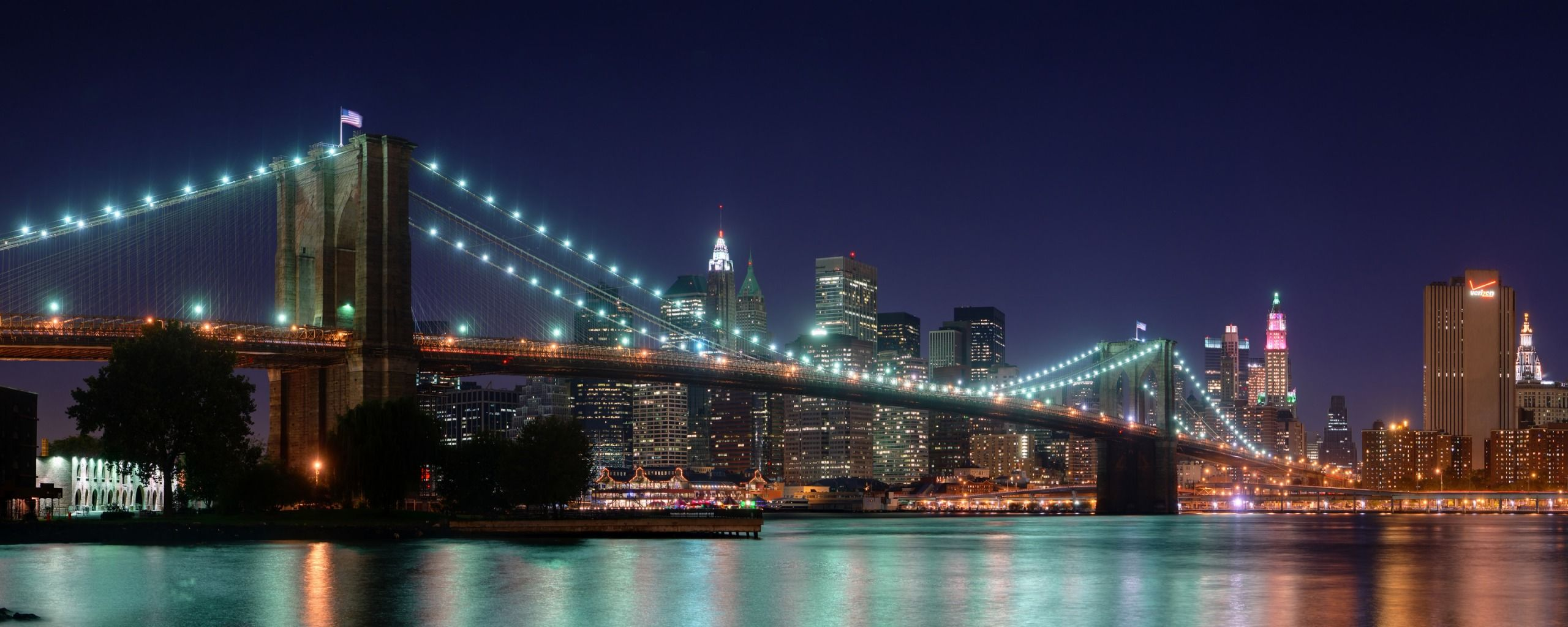 Google Image Result For Http Www Ventube Com Wp Content Uploads 2012 11 Hd Brooklyn Bridge Panor Bridge Wallpaper New York Landscape Brooklyn Bridge New York