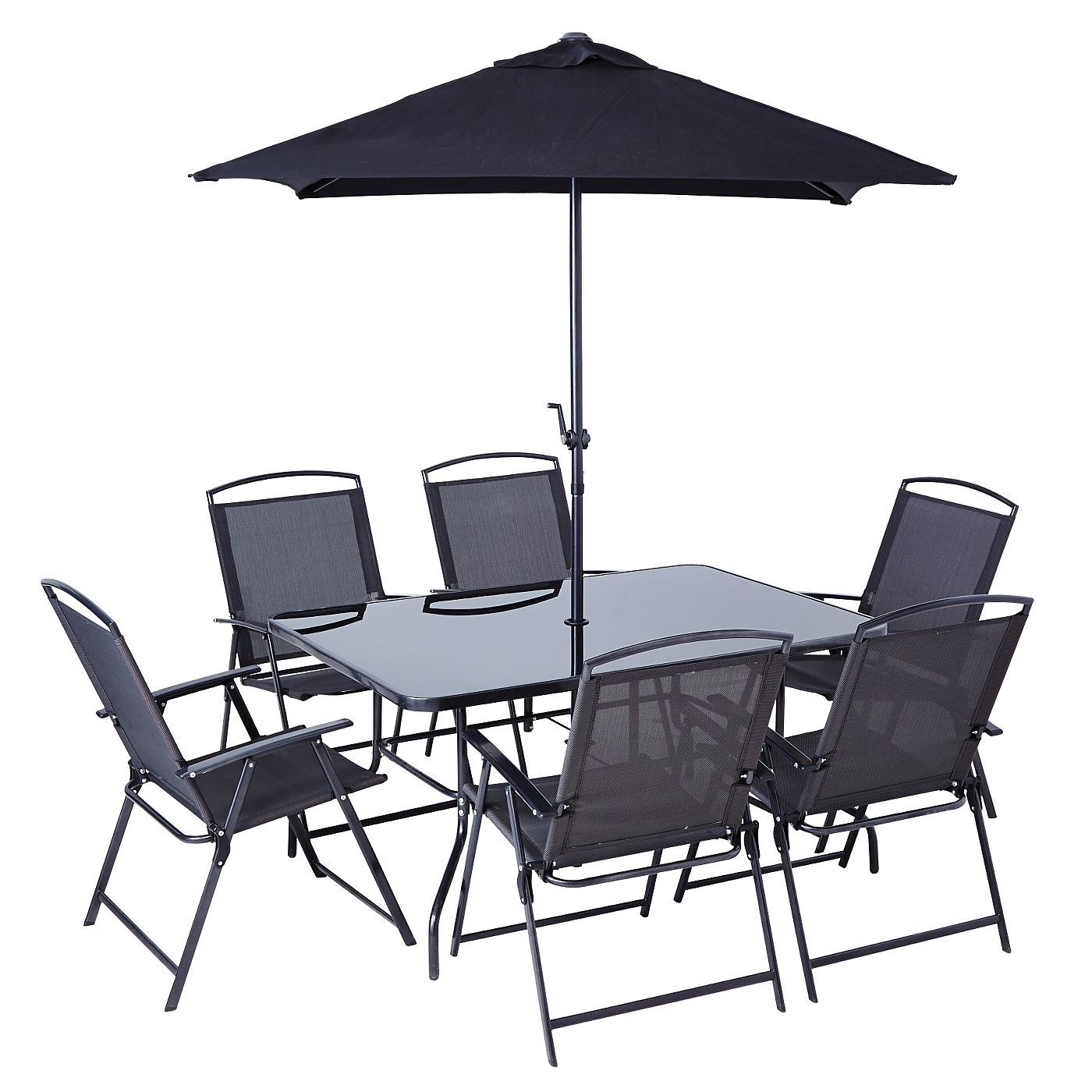 Delicieux Miami Patio Set   8 Piece | Garden Furniture | ASDA Direct