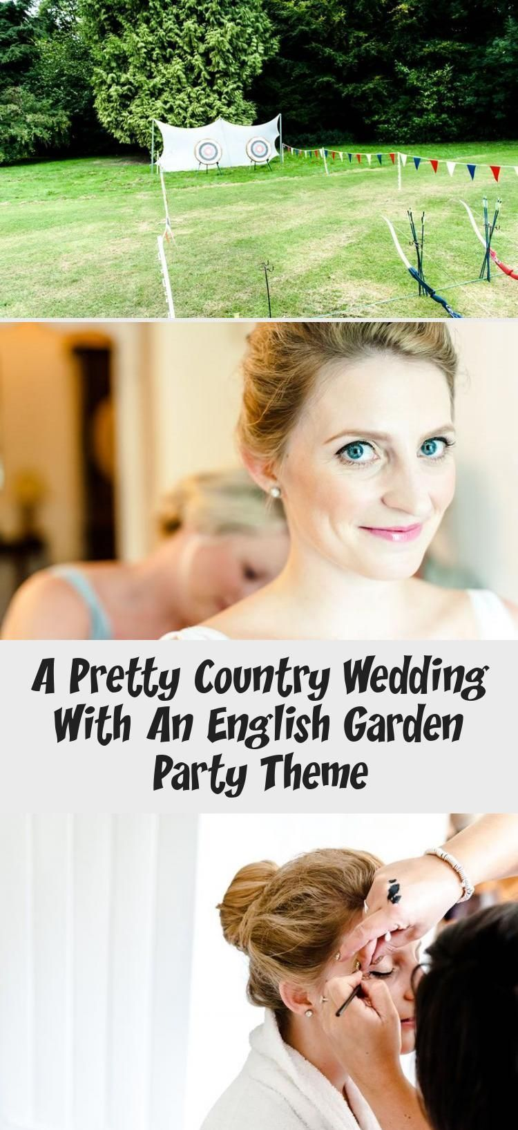 A pretty country wedding with an English garden party theme garden party outfit A pretty country wedding with an English garden party theme
