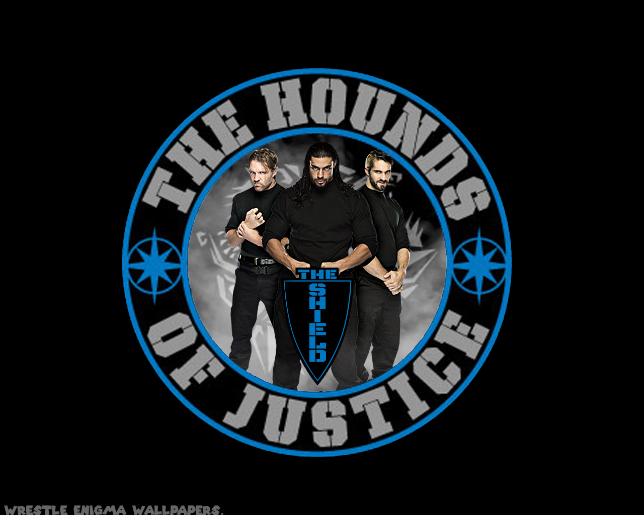 The Shield Hounds Of Justice Wwe Wallpaper Wwe Roman Reigns Wwe Roman Reigns