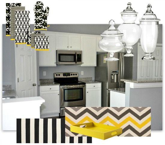 Yellow Kitchen Decor Google Search