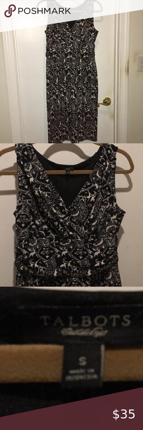 Euc Talbots Print Dress In 2020 Print Dress Clothes Design Fashion Design