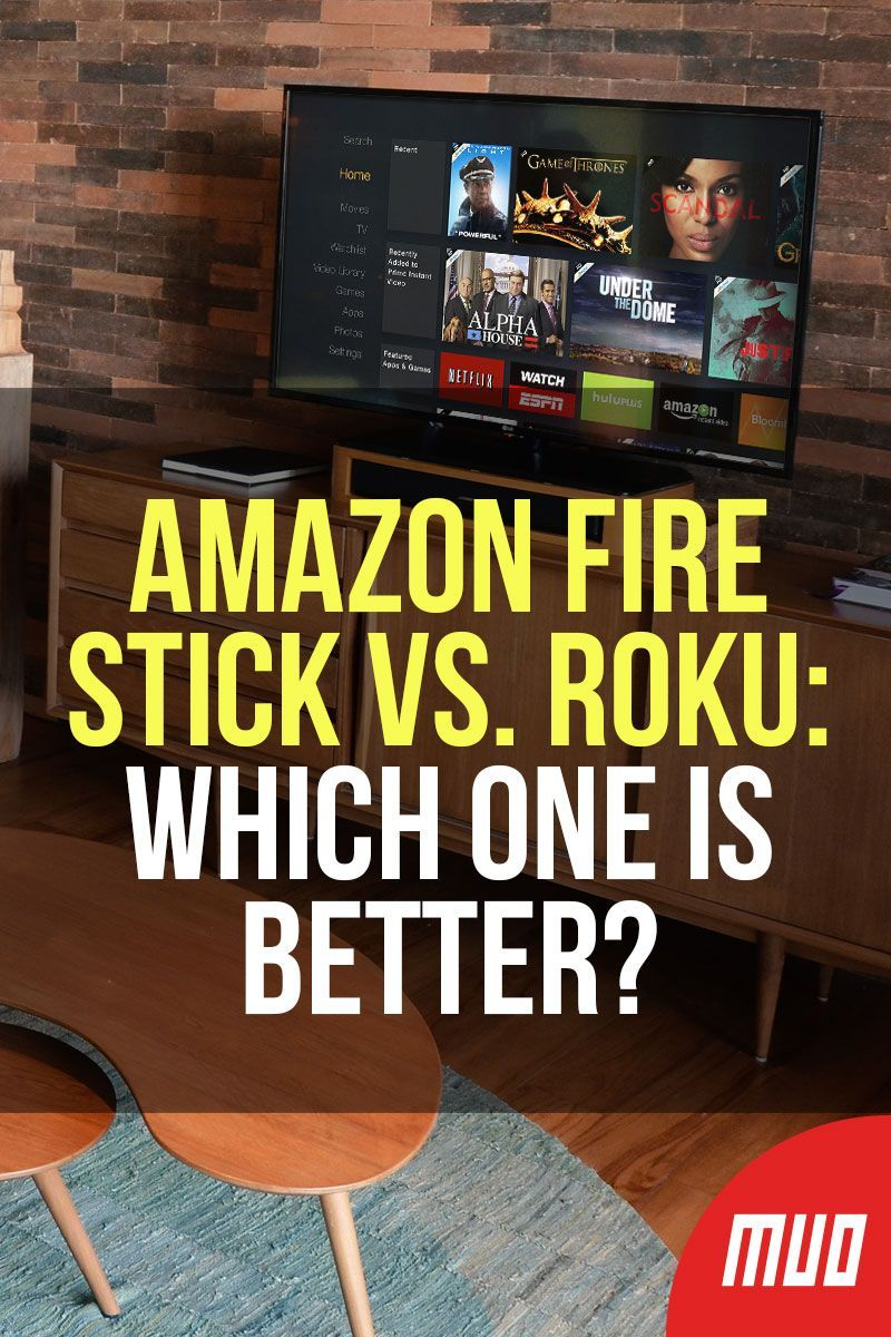 Amazon Fire Stick vs. Roku Which One Is Better? Amazon