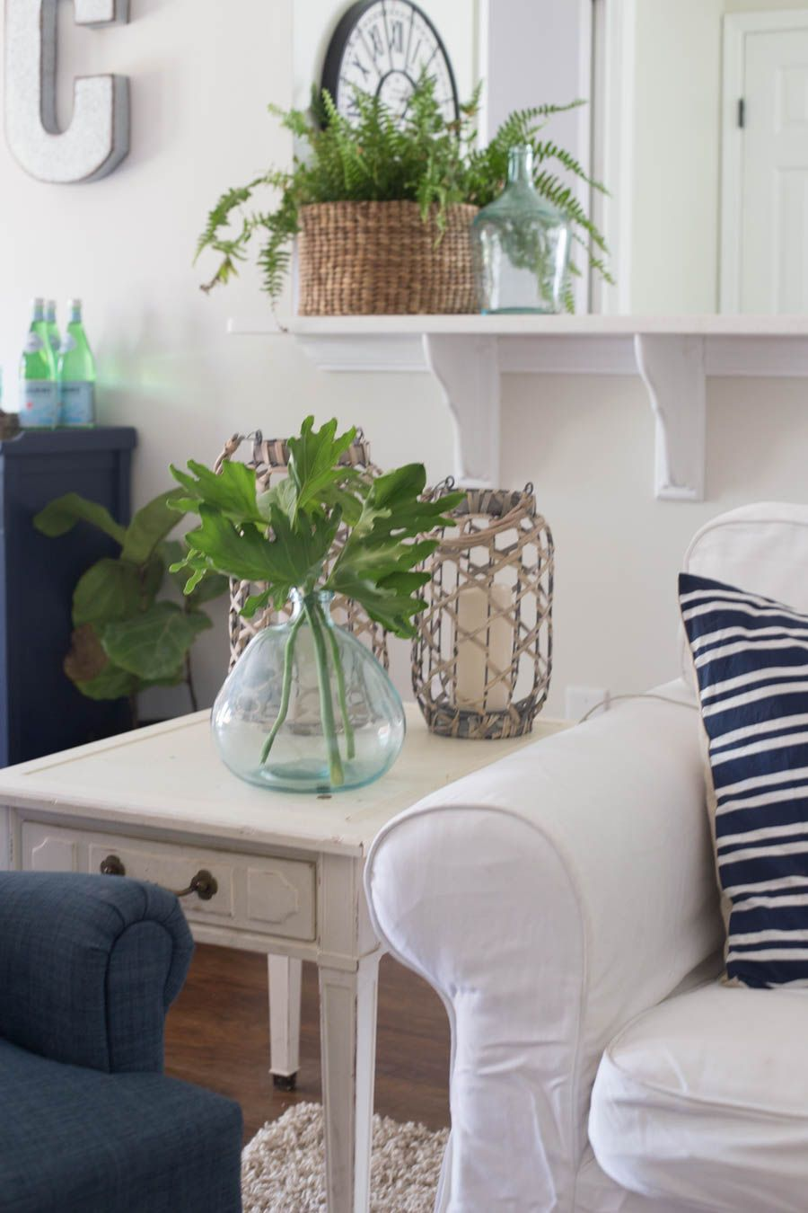 Casual, Chic Coastal Living Room   Maison De Pax