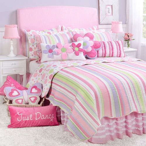 Merrill Girl Reversible Quilt Collection Quilt Sets Girl Room Little Girl Bedrooms