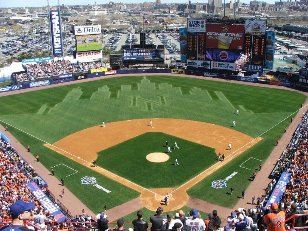 Pin By The Little Thing5 On Mlb Ballparks I Ve Visited Baseball Stadium Baseball Park New York Mets